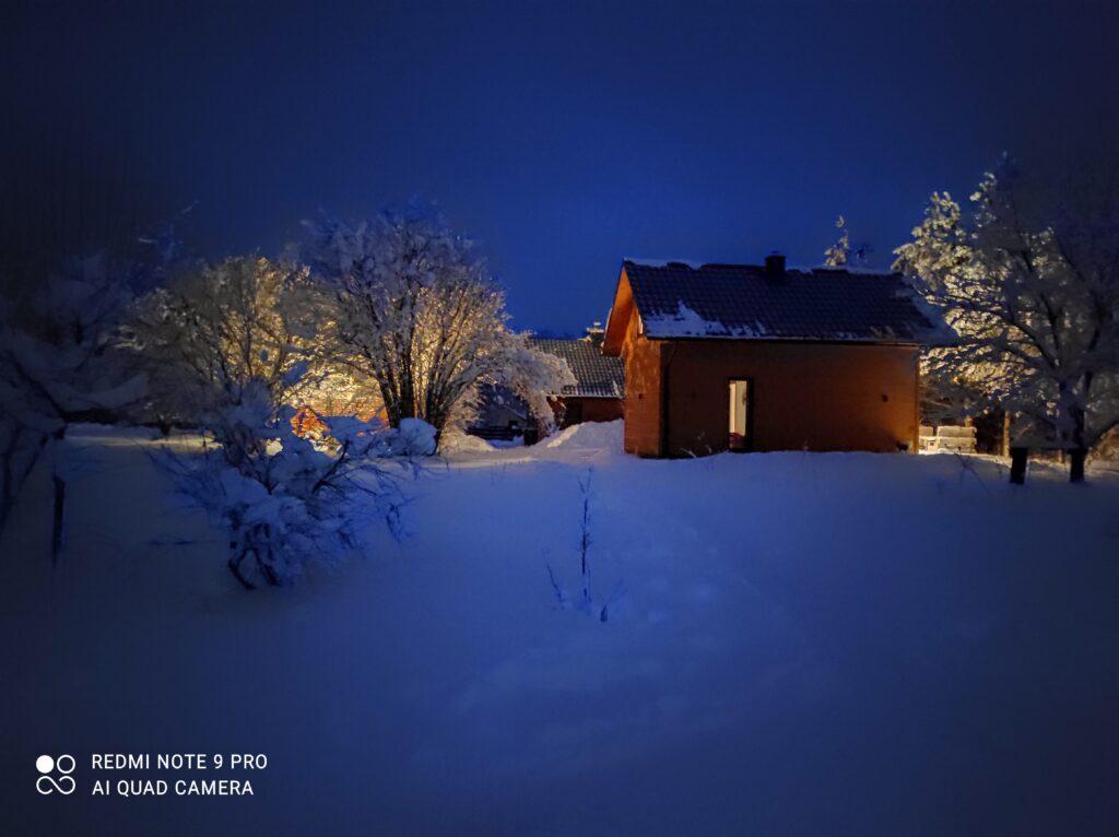Przystanek Roztocze zimową porą
